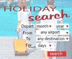 Tui Holiday & Cruise search